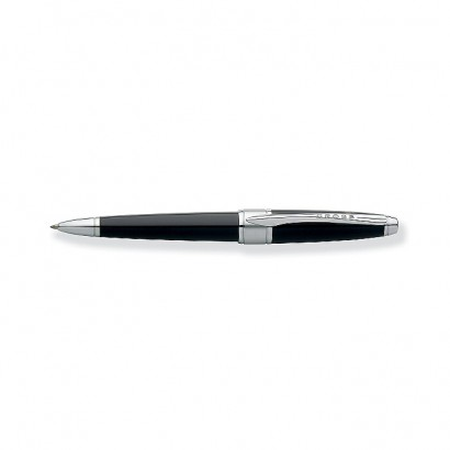 Apogee Black Star Lacquer Ballpoint Pen With Chrome Plated appointments