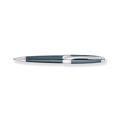 Apogee Frosty Steel Ballpoint Pen With Chrome appointments