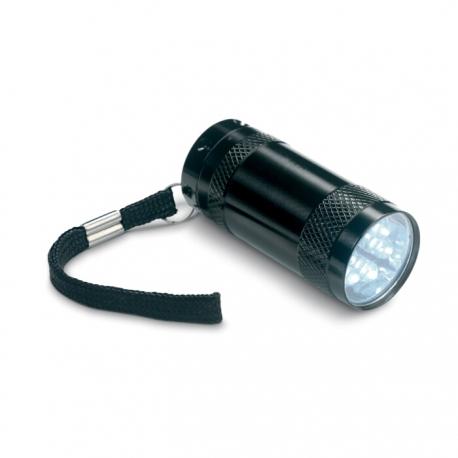 Aluminium torch with lanyard