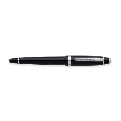 Affinity Opalescent Black Rollerball Pen With Polished Chrome appointments