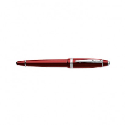 Affinity Crimson Red Rollerball With Polished Chrome appointments