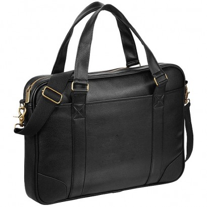 Oxford 15.6`` slim laptop briefcase