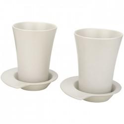 2-piece spin mug and saucer set