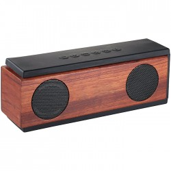"""Native"" wooden BluetoothŽ speaker"