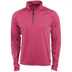 """Taza"" knit quarter zip outdoor fleece"