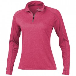 """Taza"" ladies knit quarter zip knit outdoor fleece"
