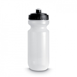 Plastic drinking bottle