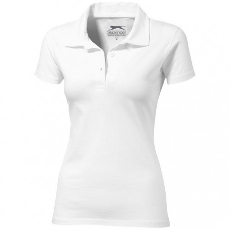 Let short sleeve ladies polo
