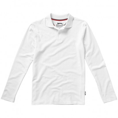 Point long sleeve polo