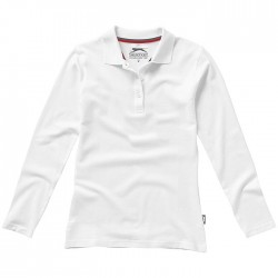 """""""Point"""" long sleeve ladies polo"""
