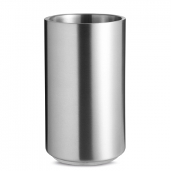 Stainless steel bottle cooler