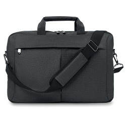 Laptop bag in 2 tone 360d
