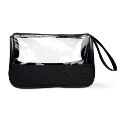 Toiletry bag microfibre w PVC