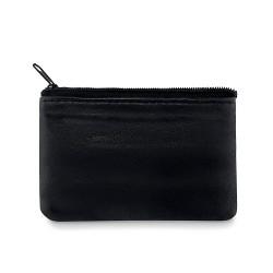 Leather wallet keyholder