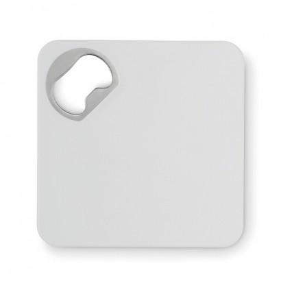 Squared bottle opener