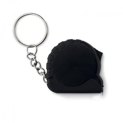 Small measuring tape key ring