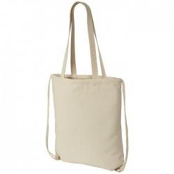 Cotton drawstring rucksack
