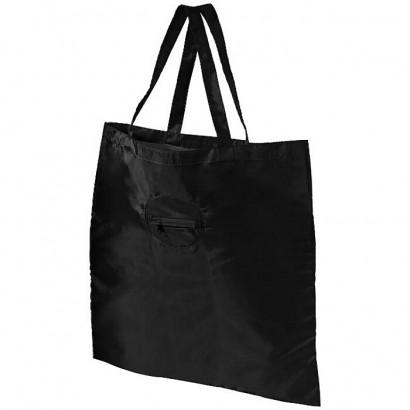 Foldable shopper tote