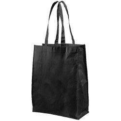 Medium size shopping tote bag with a large open main compartment
