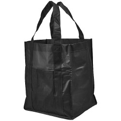 Laminated non-woven grocery tote