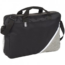 Conference bag with zipped main compartment and easy to access front pocket