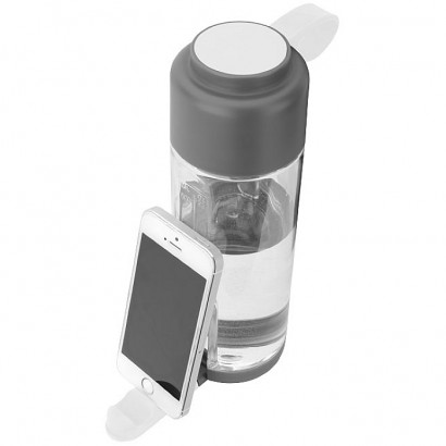 Water bottle with phone holder, 750ml