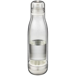 Sports bottle with glass liner, 500ml