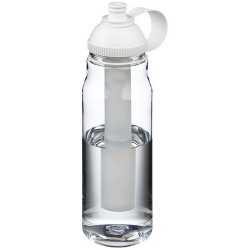 Single wall bottle with twist on lid and push/pull spout, 700ml