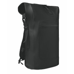 Waterproof backpack in strong Tarpaulin material with main compartment
