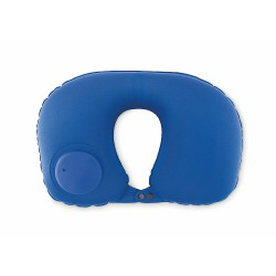 Travel pillow with pump