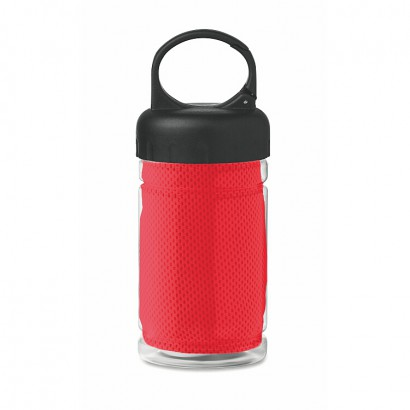 Tritan bottle with towel