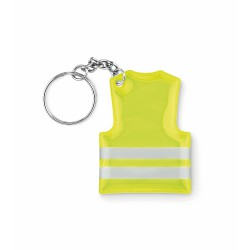 Keyring with reflecting vest