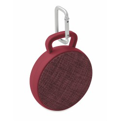 Fabric round Bluetooth speaker