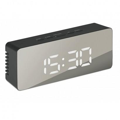 Mirror finish clock