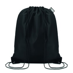 Drawstring bag in 190T RPET with PP strings