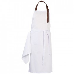 Trendy apron with adjustable neck strap