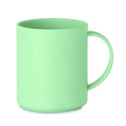 Reusable mug 300 ml made of 50% bamboo