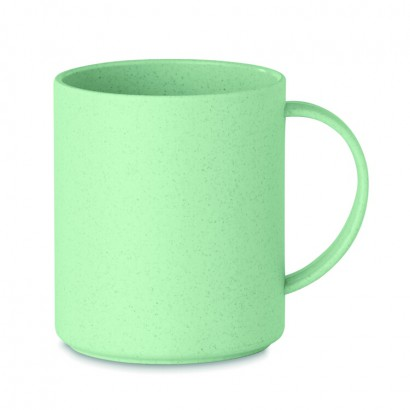 Reusable mug 300 ml made of 50% bamboo