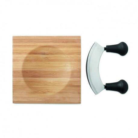 Bamboo cheese cutter set