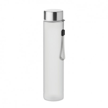 Travel bottle in tritan 300 ml with stainless steel lid