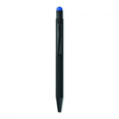 Push button stylus pen in aluminium