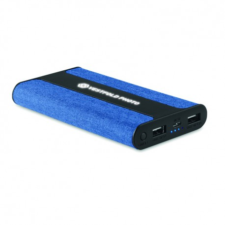 Fabric power bank 6000 mAh