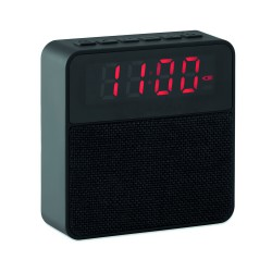 Fabric clock-alarm speaker