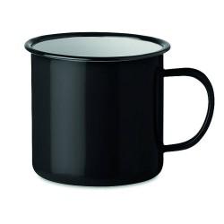 Enamel metal vintage mug 350 ml