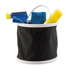 Car cleaning tool kit in pouch