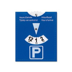Parking card in PVC