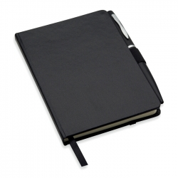 A5 notebook with pen