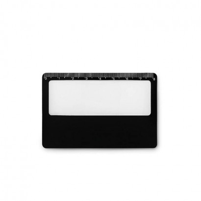 Thin credit card size magnifier in PVC