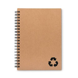 Ring notebook, 70 sheet lined stone paper and recycled carton cover