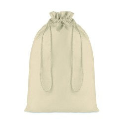 Large gift cotton draw cord bag